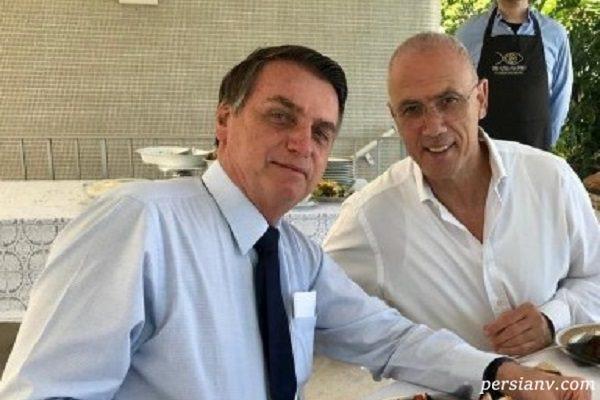 جنجال سانسور عجیب حرام خوری سفیر اسرائیل!