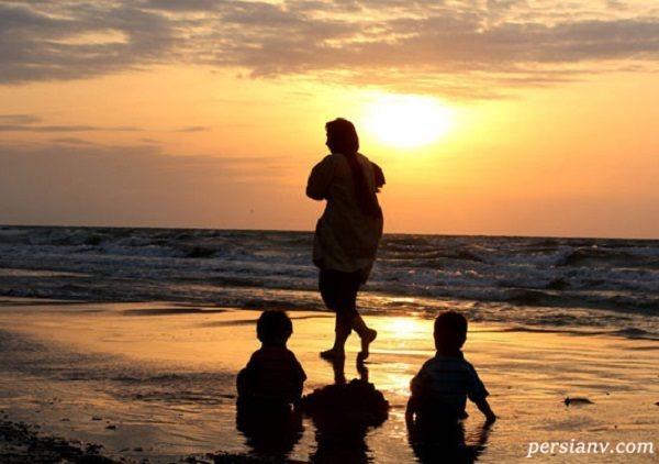 سوژه هایی جذاب از تابستان داغ در سواحل دریای خزر