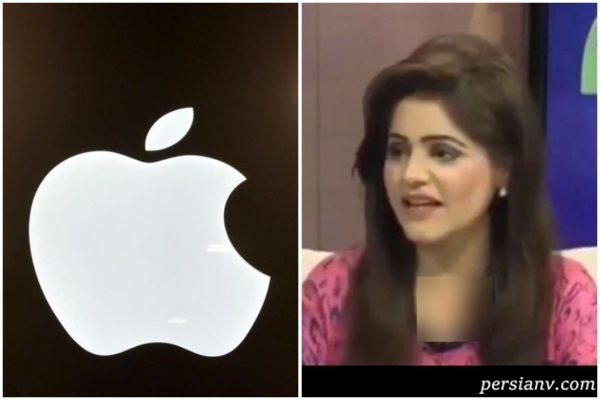 افتضاح ترین سوتی مجری تلویزیون پاکستان در آنتن زنده