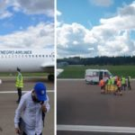 فرود اضطراری هواپیما به علت حمله قلبی خلبان در آسمان!!