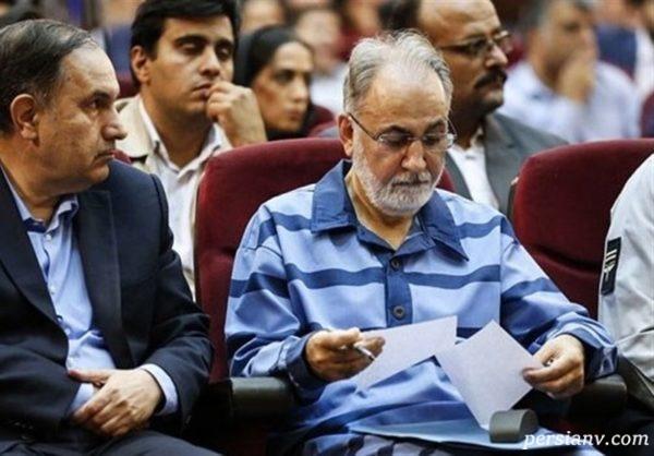 محمدعلی نجفی در دادگاه