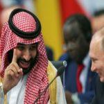 گاف عجیب ولیعهد سعودی در حاشیه دیدار محمد بن سلمان و پوتین!!