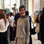 مهتاب کرامتی بازیگر ایرانی در فشن شوی برند آرمانی پریوه در پاریس!