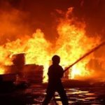 فیلم و تصاویر منتشر شده از آتشسوزی گسترده در میدان حسن آباد تهران!!