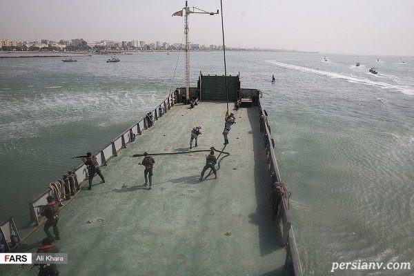 نفتکش انگلیسی در خلیج فارس