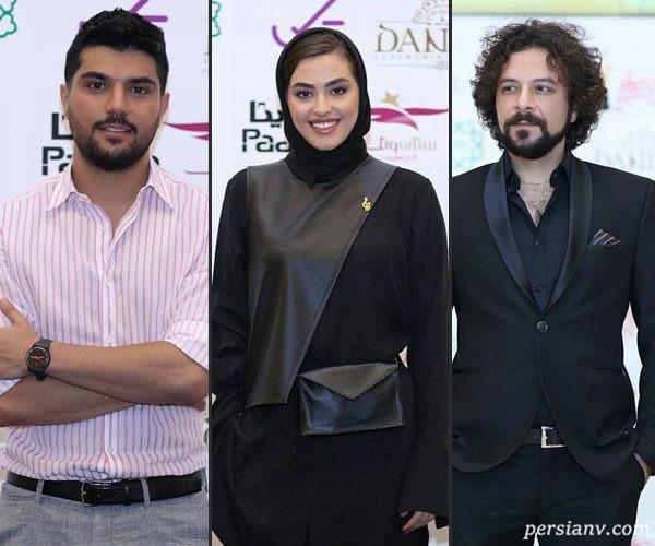 هنرمندان در جشن حافظ