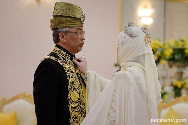 پادشاه جدید مالزی و مراسم تاجگذاری او!