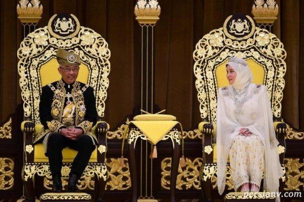 پادشاه جدید مالزی