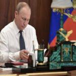 راز لیوان سفید پوتین رئیس جمهوری بالاخره فاش شد!!