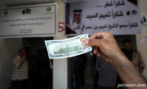 شگفت انگیزترین کمک امیر قطر به مردم غزه
