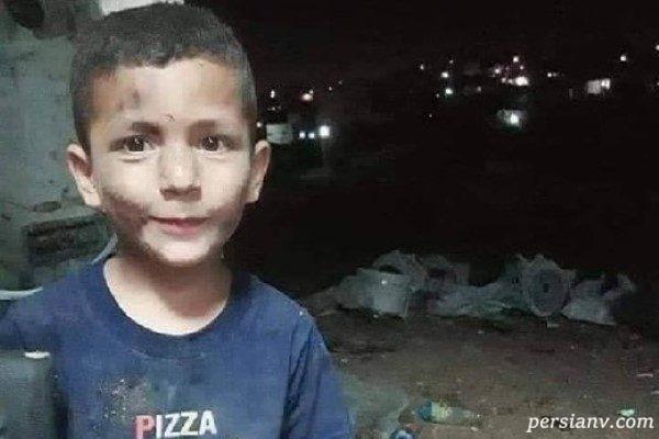 تصاویری دلخراش از شهادت کودک فلسطینی که در فضای مجازی غوغا کرد!