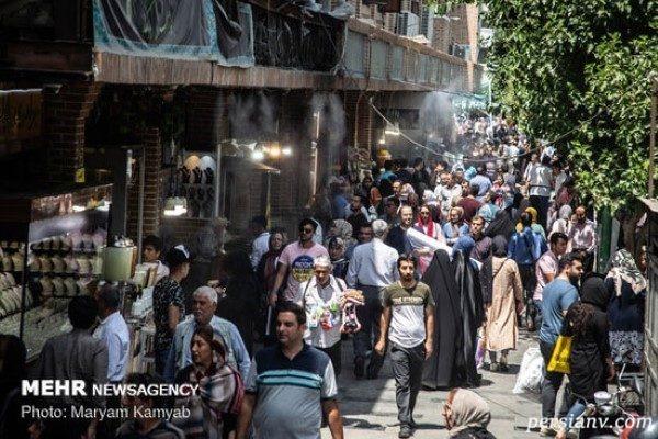 گرمای هوای تهران