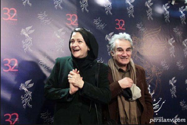 تشکر گلاب آدینه بازیگر ایرانی در جشن حافظ از همسرش مهدی هاشمی!!