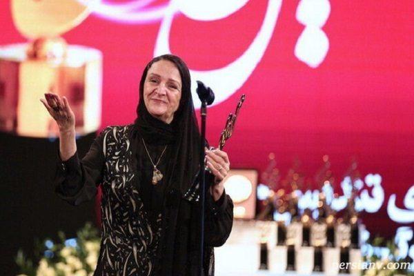 واکنش بهاره رهنما به تشکر گلاب آدینه در جشن حافظ از مهدی هاشمی