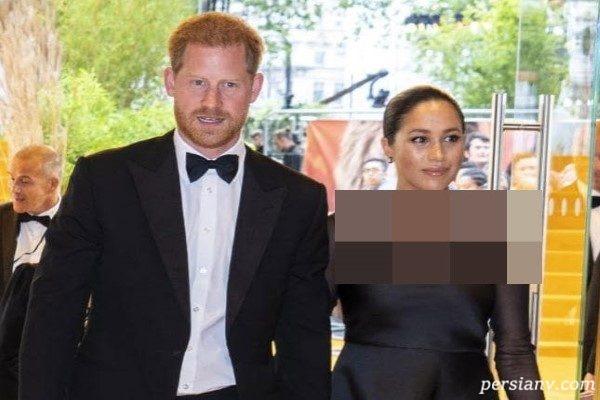شاهزاده هری و همسرش مگان