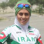آتوسا عباسی دوچرخه سوار ایرانی و واکنش همسرش به دستفروشی او!!