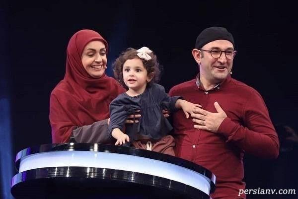 هدایت هاشمی و همسر و دخترش
