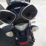 توقیف موتور سیکلت گران قیمت در اتوبان تهران