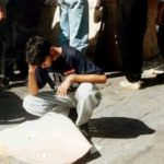 تیپ خفن جوانان دهه پنجاهی هنگام اعلام نتایج کنکور ۷۵