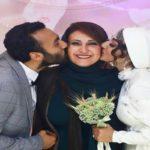 مراسم ازدواج پسر فاطمه گودرزی با دریا مرادی دشتی!