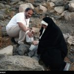 اعمال رمی جمرات و جمعآوری سنگ توسط زائران حج امسال!