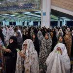 نماز عید قربان در مصلی تهران با مردم و مسئولین