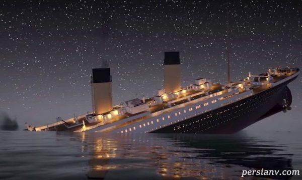 بقایای کشتی تایتانیک و تصاویر شگفتانگیز و جدید از آن!!