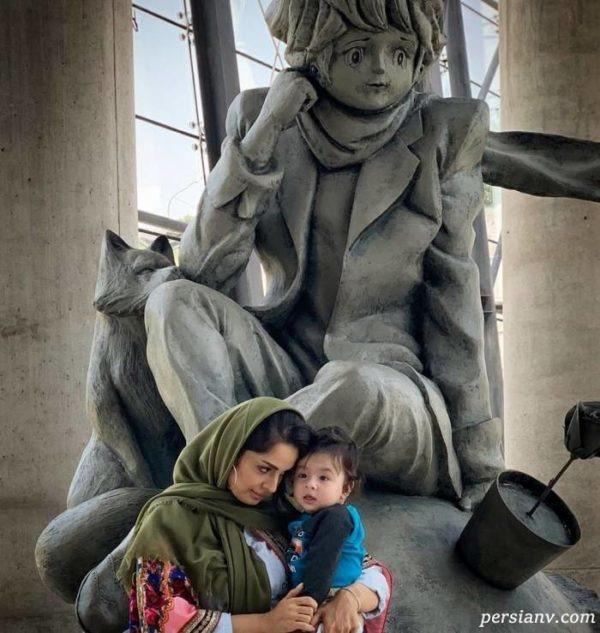 بنیامین بهادری و خانواده اش