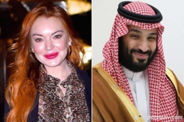 بن سلمان پسر پادشاه عربستان و افشای ارتباطش با بازیگر زن معروف!!