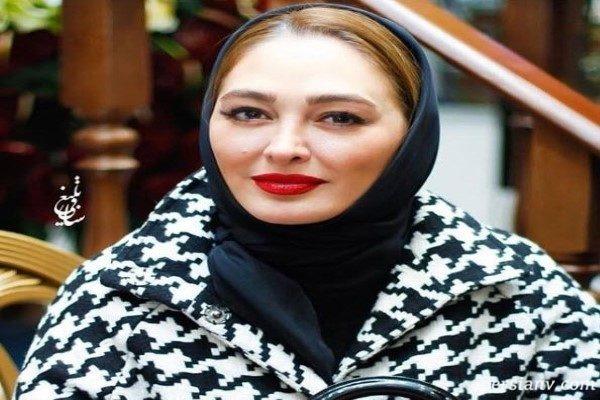 جدیدترین عکس الهام حمیدی و همسرش علیرضا صادقی!