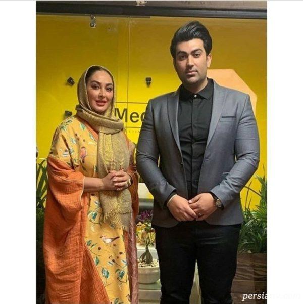 جدیدترین عکس الهام حمیدی و همسرش