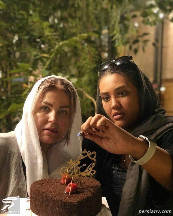 جشن تولد اکرم محمدی