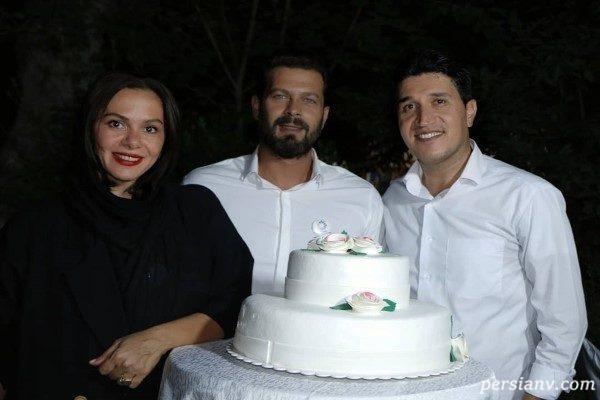 جشن تولد پژمان بازغی
