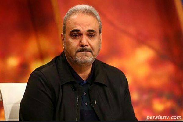 جواد خیابانی گزارشگر ورزشی و کنایه جالبش به مزدک روی آنتن زنده!!
