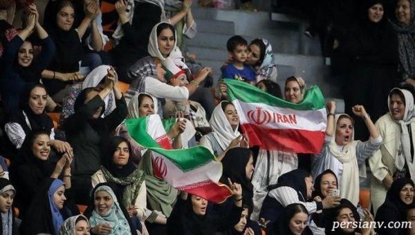 امکان حضور زنان در استادیوم آزادی ایران فراهم شد ؟!