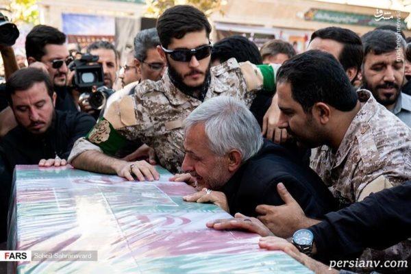 مراسم تشییع پیکر شهید خلبان مجید فتحی نژاد