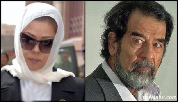 دختر صدام حسین