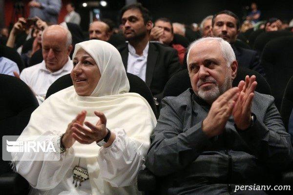 دکتر ظریف و همسرش