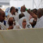 زنان عربستان سعودی در اداره صفوف حجاج در رمی جمرات برای اولین بار!!