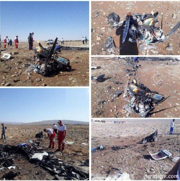 سقوط هواپیمای تفریحی