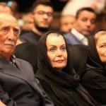 طاهره خاتون میرزایی در مراسم تشییع همسرش داریوش اسدزاده !