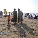 طلاب جوان و ماجرای حضور متفاوتشان در سواحل دریای خزر!!