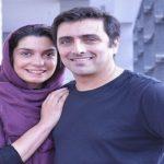 عکسی از الیکا عبدالرزاقی در کنار همسرش روی تخت بیمارستان!