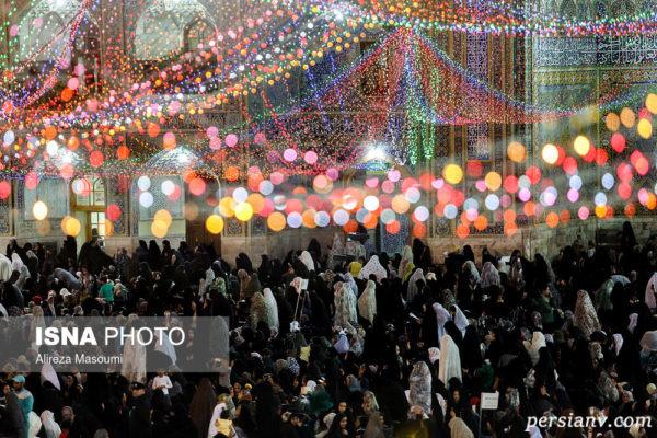 عید غدیر خم ۹۸ و حال و هوای حرم رضوی به مناسبت آن