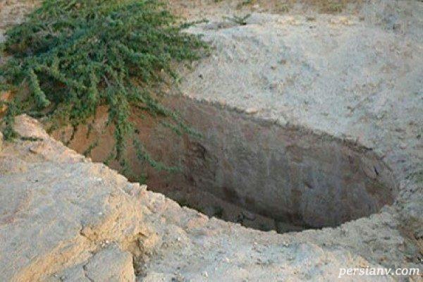 قبرستان جن ها در چابهار