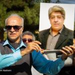 مراسم تشییع ناصر احمدی صبح دیروز برگزار شد | هنرمندان در مراسم تشییع پیکر
