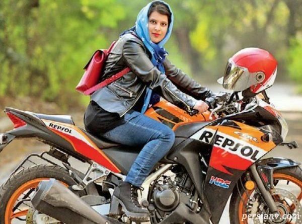 موتورسواری زنان ایرانی و ادامه واکنش ها و حاشیه های آن!!