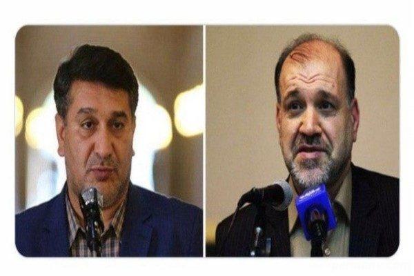 نمایندگان بازداشتی بعد از آزادی از اوین در صحن مجلس!!