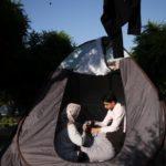 ماجرای خانوادهای که در پارک کرمانشاه زندگی میکنند!!