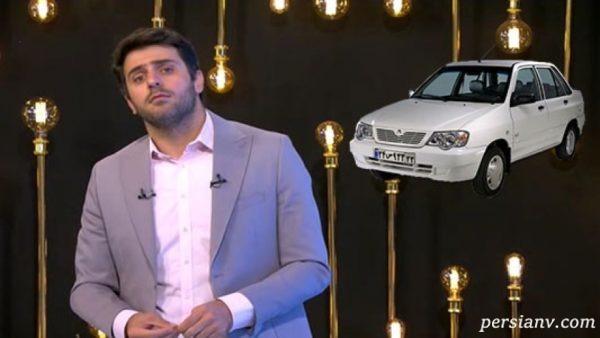 کیفیت خودروی پراید این بار سوژه علی ضیا شد!!